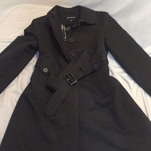 London Fog trench coat with insulated liner